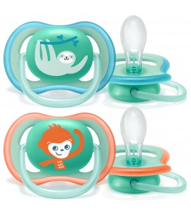 Philips Avent SCF349/21 - Pack de 2 chupetes Ultra Air